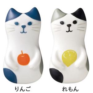 デコレ(DECOLE)HAPPY cat day ねこの実 箸置き【キッチン雑貨】のバリエーション画像