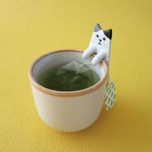 デコレ(DECOLE)HAPPY cat day ねこの実 紅茶トレー【キッチン雑貨】の使用画像