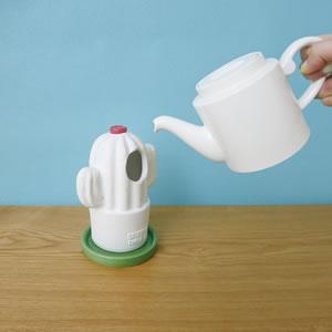 デコレ(DECOLE)潤いマスコット ナチュラル【加湿器/インテリア雑貨】サボテンの水入れ画像