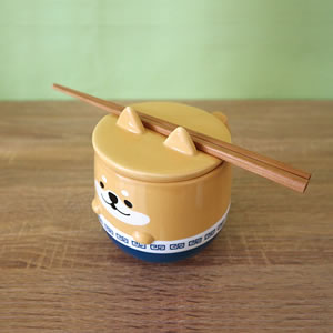 デコレ(DECOLE)どんぶりマグ【猫/キッチン雑貨】ファンファンの詳細画像