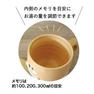 デコレ(DECOLE)どんぶりマグ【猫/キッチン雑貨】はちの詳細画像
