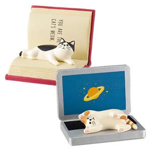 デコレ(DECOLE)HAPPY CAT day じゃま猫スマホスタンド【猫グッズ】のバリエーション画像