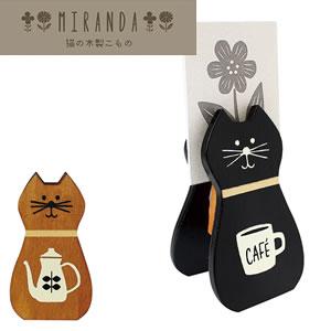 デコレ(DECOLE)miranda WOODカードスタンド【インテリア雑貨】の使用画像