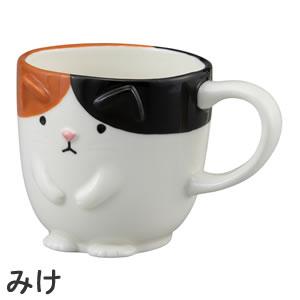 デコレ(DECOLE)ちょこんマグ【猫/キッチン雑貨】はちの詳細画像