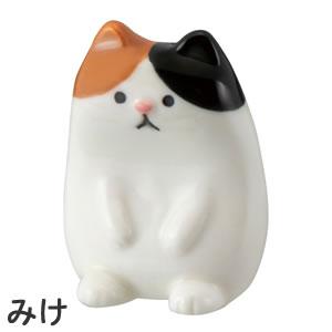 デコレ(DECOLE)ちょこん箸置き【猫/キッチン雑貨】みけの詳細画像