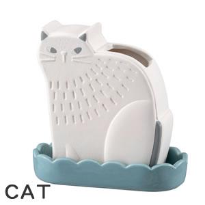 デコレ(DECOLE)潤いマスコット FIKA【加湿器/インテリア雑貨】CATの全体画像