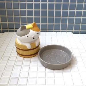 デコレ(DECOLE)潤いマスコット 風呂桶【加湿器/インテリア雑貨】の展開画像