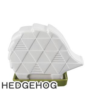デコレ(DECOLE)カラッとマスコット シルエット HEDGEHOG【除湿器/インテリア雑貨】の画像