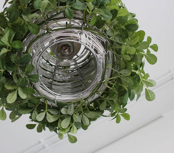 ディクラッセ(DI CLASSE)オーランド ペンダントランプ【照明/グリーン/北欧/おしゃれ】の電球部分詳細画像