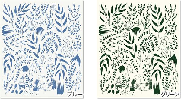 スポンジワイプ ムーミン 目覚めるとジャングル 17×20cm【北欧雑貨/キッチン雑貨】の全体画像