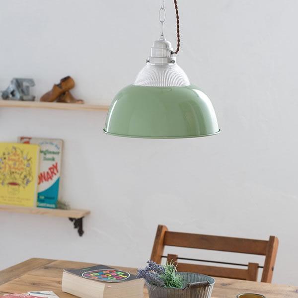 ル・チェルカ(LuCerca)1灯ペンダントライト ベゼル(BEZEL)【おしゃれ】ペールグリーンの使用画像