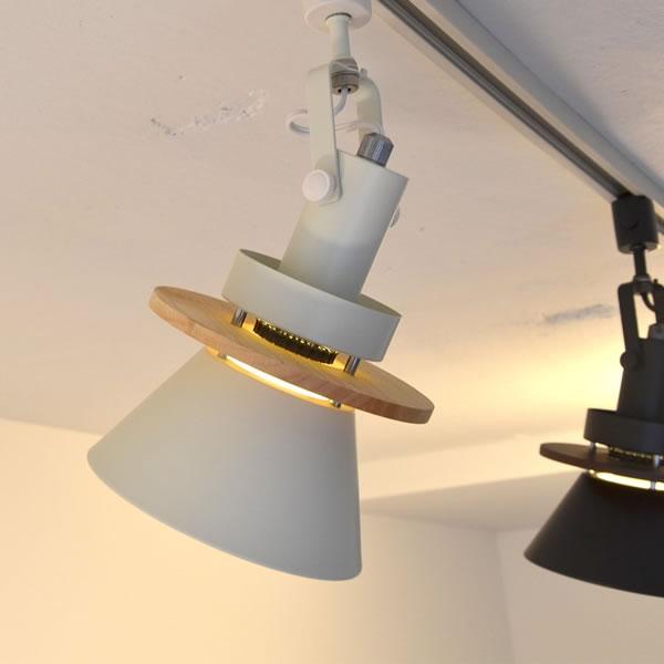 ル・チェルカ(LuCerca)ダクトレールスポットライト セロン(CERON)【おしゃれ/LED照明】ホワイトの使用画像
