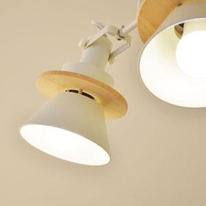 ル・チェルカ(LuCerca)シーリングスポットライト セロン(CERON)【おしゃれ/LED照明】イエローの使用画像