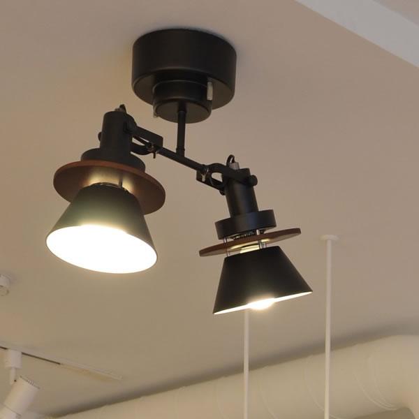 ル・チェルカ(LuCerca)シーリングスポットライト セロン(CERON)【おしゃれ/LED照明】ヴィンテージシルバーの使用画像