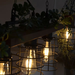 3灯ペンダントライト グリーネ3(GREENE3)【グリーン/北欧/おしゃれ】の使用画像