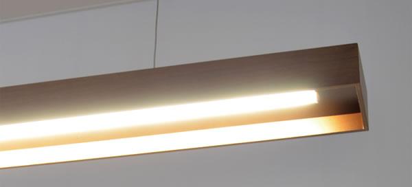 ル・チェルカ(LuCerca)ペンダントライト プレーサー(Placer)【おしゃれ/LED照明】Lサイズ ブラウンの詳細画像