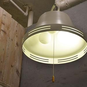 ル・チェルカ(LuCerca)3灯ペンダントライト ウッドベル(Wood Bell)【おしゃれ】オフホワイトの詳細画像