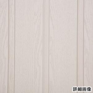 木製風窓付きパネルドア クレア ホワイトウッド色(オーダー)【間仕切り/アコーディオン】の素材詳細画像