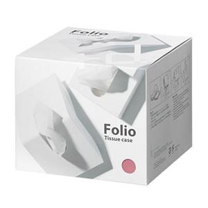 アッシュコンセプト フォリオ(Folio)D-660【ティッシュケース】の化粧箱画像