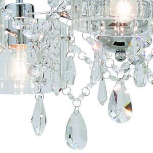 シーリングライト ルナール プラス 6畳〜8畳【おしゃれ/インテリア照明】LT-8236のクリスタルガラス詳細画像