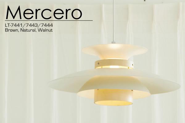 ペンダントライト メルチェロ(Mercero)【おしゃれ/インテリア照明】のリビング使用画像