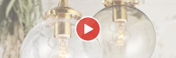 ペンダントライト ポメリー(Pommery)【おしゃれ/LED照明】の動画