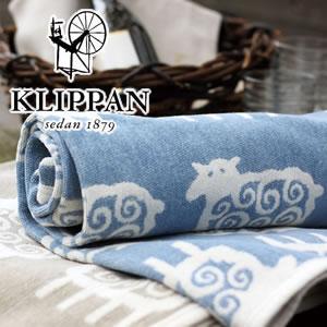 クリッパン(KLIPPAN)ハーフブランケット ヒツジの使用画像