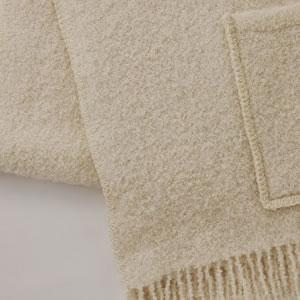 クリッパン アルパカストール W65×L200cm【北欧雑貨】ホワイトの詳細画像