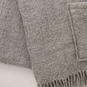 クリッパン アルパカストール W65×L200cm【北欧雑貨】ライトグレーの詳細画像