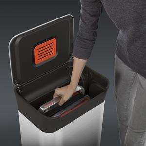ジョセフジョセフ(josephjoseph)クラッシュボックス【ゴミ箱/キッチン】のゴミクラッシュ画像