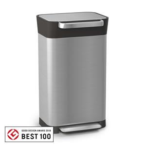 ジョセフジョセフ(josephjoseph)クラッシュボックス 30L/30030【ゴミ箱/キッチン】の全体画像