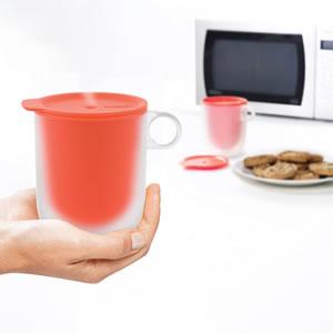 ジョセフジョセフ(josephjoseph)M-クイジーン 電子レンジクールタッチマグ【調理容器】の食品使用画像