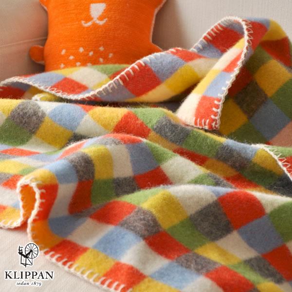 クリッパン(KLIPPAN)ウールブランケット ベビーピクシー W65×L90cm【北欧雑貨】マルチの使用画像