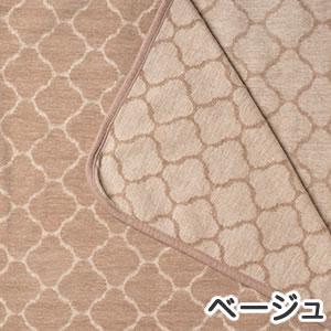 クリッパン(KLIPPAN)ライトコットンブランケット ヨーディス シングル W140×L180cm【北欧雑貨】ベージュの詳細画像