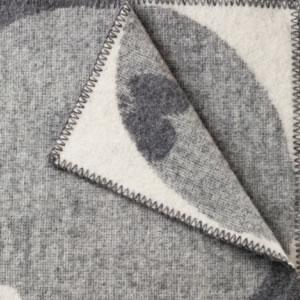 クリッパン(KLIPPAN)ウールブランケット PERHONEN ハーフ W90×L130cm【北欧雑貨】グレーの詳細画像
