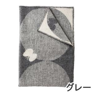 クリッパン(KLIPPAN)ウールブランケット PERHONEN ハーフ W90×L130cm【北欧雑貨】グレーの全体画像