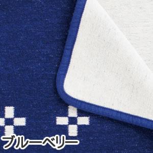 クリッパン(KLIPPAN)ブランケット レクタングルシャーンスンド W70×L90cm【ベビー/北欧雑貨】ブルーベリーの詳細画像