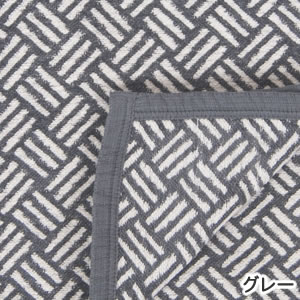 クリッパン(KLIPPAN)コットンブランケット サンバ シングル W140×L180cm【北欧雑貨】グレーの詳細画像