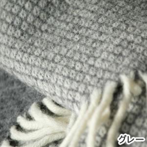 クリッパン(KLIPPAN)スローケット ヴェガ W130×L200cm【北欧雑貨】グレーの詳細画像