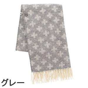クリッパン(KLIPPAN)ストール シャーンスンドクロス ポケットなし【おしゃれ/北欧ファッション】グレーの全体画像