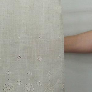 カフェカーテン リネア【おしゃれ/北欧風】の透け感画像