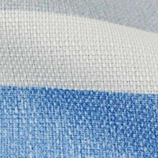 遮光カーテン デニス 2枚セット【新生活/模様替え/インテリア】ブルーの全体画像