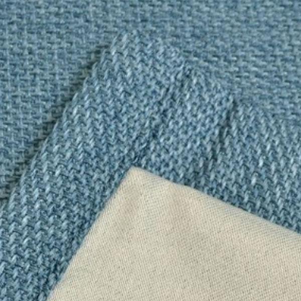遮光カーテン ザックディラン 2枚セット【新生活/模様替え/インテリア】ブルーの全体画像