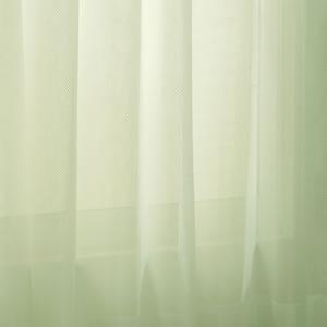 ミラーレースカーテン パステル(Pastel)2枚セット【おしゃれ/インテリア】グリーンの詳細画像