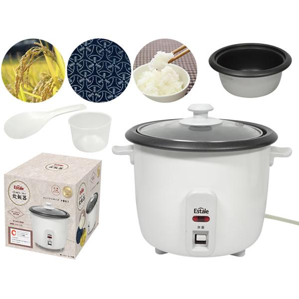 1.5号炊き炊飯器 KEM12【人気/調理家電】の詳細説明画像