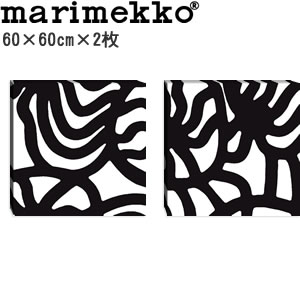 マリメッコ ファブリックパネル ヨーナス(Joonas)600×600×30mm×2枚【北欧雑貨/北欧生地】の全体画像
