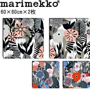 マリメッコ ファブリックパネル カスヴ(Kasvu)600×600×30mm×2枚【北欧雑貨/北欧生地】各カラーの画像