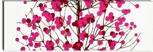 マリメッコ ファブリックパネル ルミマルヤ(Lumimarja)450×1350×30mm【北欧雑貨/北欧生地】ピンクの画像