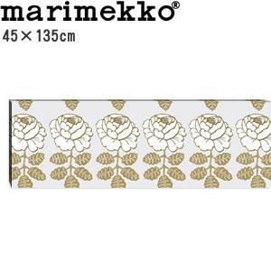 マリメッコ ファブリックパネル マーライスルース(Maalaisruusu)ゴールド 450×1350×30mm【北欧雑貨/北欧生地】の全体画像