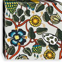 マリメッコ ファブリックパネル ピエニ ティアラ(Pieni Tiara)300×300×30mm【北欧雑貨/北欧生地】マルチの画像